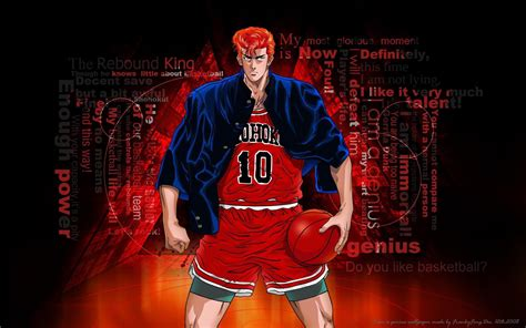 Slam Dunk Anime Wallpaper - sakuragi hanamichi slam dunk wallpaper anime