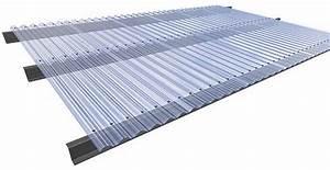 Plaque Ondulée Pour Toiture : plaque plastique transparente pour toiture toiture ~ Premium-room.com Idées de Décoration