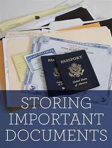 tips for storing important documents the neighborhood With documents vivint