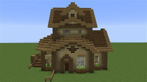 Quick Wooden Minecraft House!