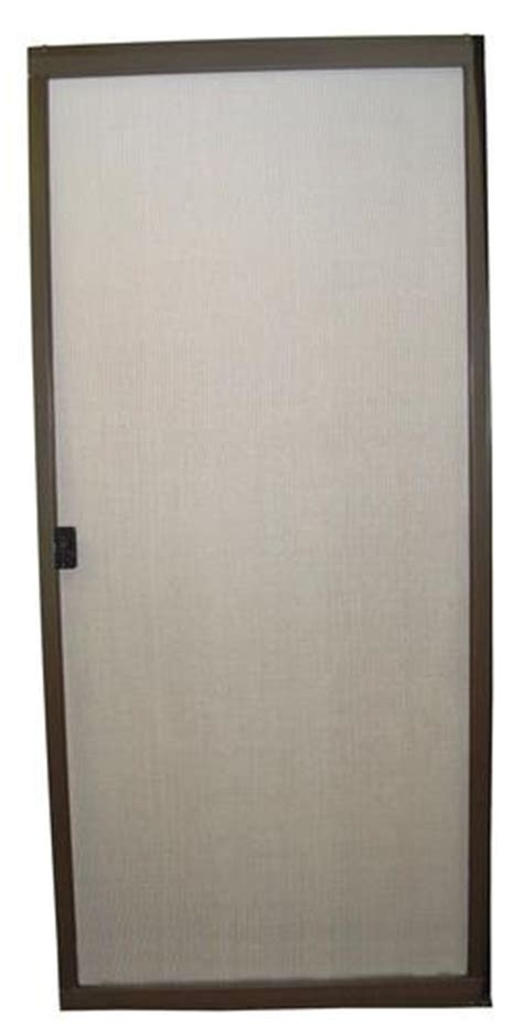 Menards Patio Door Screen 36 quot x 80 quot standard bronze aluminum replacement patio door