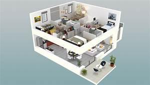 plan 3d chambre perfect maison chambres avec garage With plan d appartement 3d 3 une maison 224 toulouse