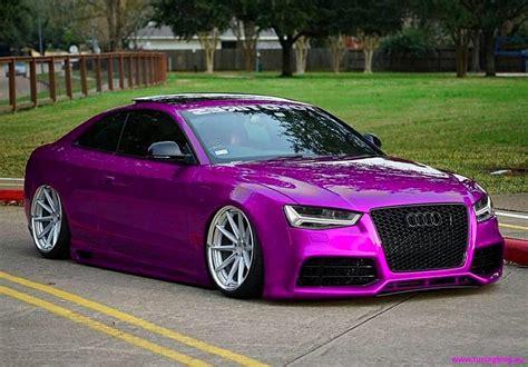 Pinkes Audi Rs5 Coupe Mit A7 Fl Leuchten By Tuningblog Eu