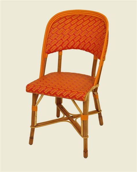 chaise drucker seine chair orange maison drucker