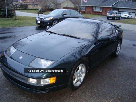 nissan 300zx 1994 1994 nissan 300zx twin turbo black emerald pearl rare plus