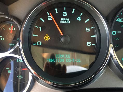 stabilitrak  traction control service message
