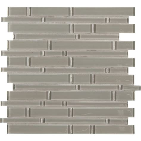 arctic subway 12 in x 12 in x 8 mm glass mesh mounted mosaic tile glsst ai8mm the home depot