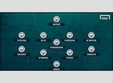 LINE UP Manchester City Vs Barcelona Champions