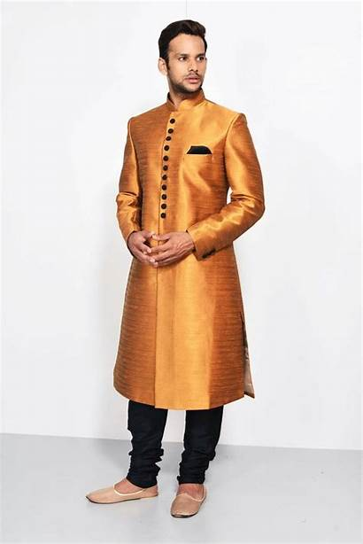 Achkan Ethnic Wear Sherwani Indian India Traditional
