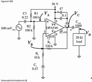Solved  For The Circuit In Figure 4