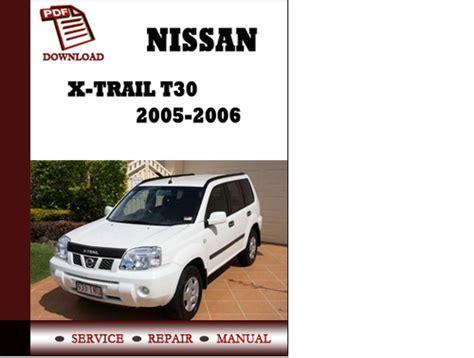 nissan  trail    service manual repair manual  downl