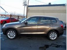 Export Used 2013 BMW X3 XDRIVE28I BROWN ON WHITE