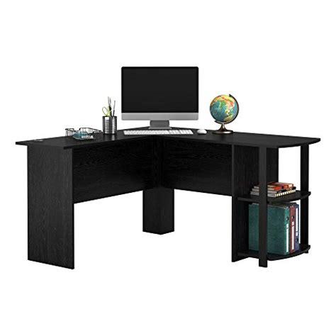 altra furniture dakota l shaped desk altra dakota l shaped desk with bookshelves black ebony