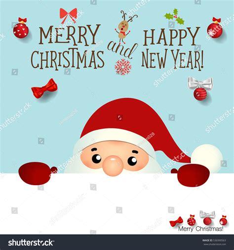 Santa Claus Card By Benchart Vectors Eps Greeting Card Santa Claus Stock Vector