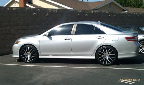 Toyota Camry Rims by 2010 Toyota Camry On 22 Inch Rims