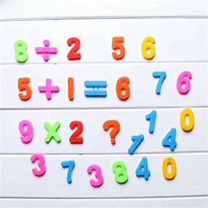 26pcs lower upper case alphabet letters number magnetic With magnetic letter and number sets