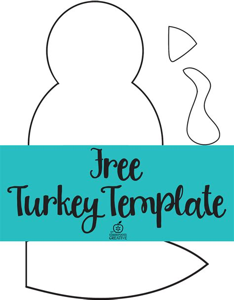 turkey template turkey craft for