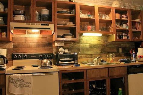 Pallet Backsplash : Top 10 Diy Kitchen Backsplash Ideas