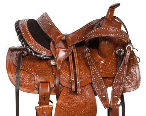 saddle saddles rated equestrian horse trail barrel leather hand western breast amazon racer reins headstall tooled pleasure collar