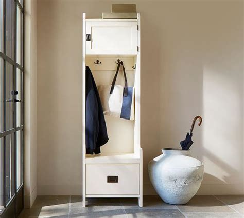 Entryway Cabinet Tower by Brady Four Black Open Entryway Suite