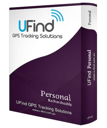 ufind personal rechargeable covert gps tracker  light
