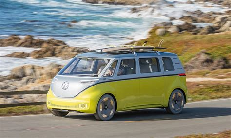 new volkswagen bus electric vw to revive 60s microbus with new all electric van