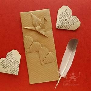 Marque Page En Papier : marque page en papier kraft et origami la filacroche ~ Melissatoandfro.com Idées de Décoration