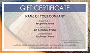 Design Your Own Gift Card Free Carpet And Flooring Gift Certificate Templates Easy To
