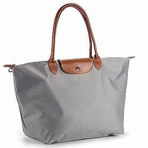 Sac A Main Pour Cours : faltbare damen nylon shopping shopper tasche handtasche schultertasche 9 farben ebay ~ Melissatoandfro.com Idées de Décoration