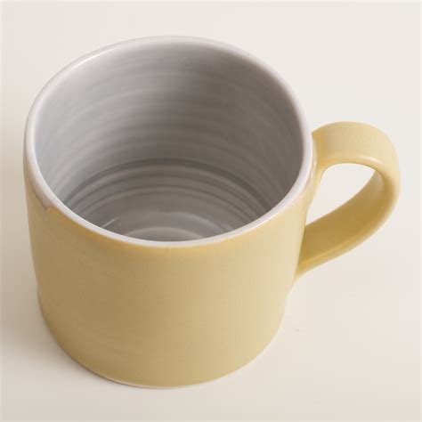 Looking for handmade mugs which are super durable and beautifully unique? Handmade Short Mug - Linda Bloomfield
