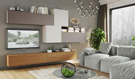 bureau d angle laqu blanc mobilier suspendu de salon meuble tl design taupe gris et