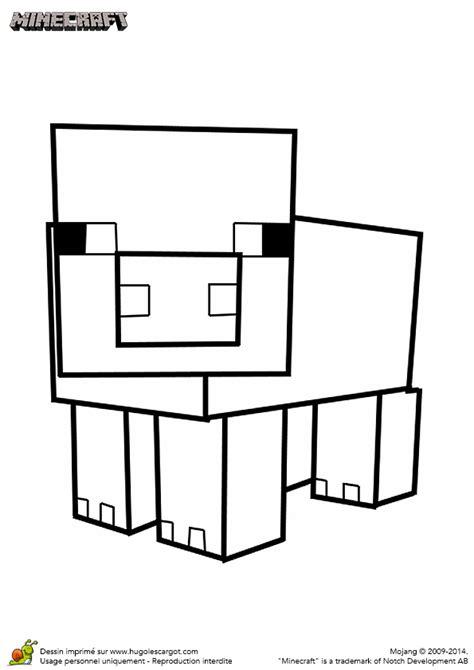 jeu de cuisine gateau coloriage du cochon du jeu minecraft hugolescargot com