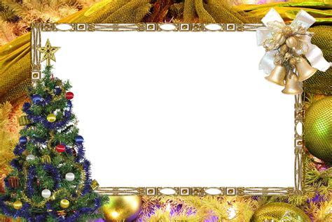 Colorful_christmas_picture_frame-with-golden