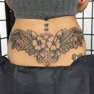 Lower Back Tattoos Tramp Stamp