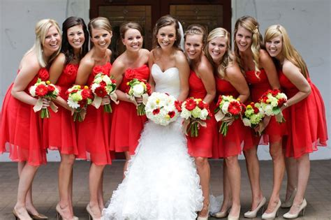 The Bridesmaid Group Make Become The Most Beautiful