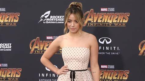 chloe bennet avengers infinity war world premiere