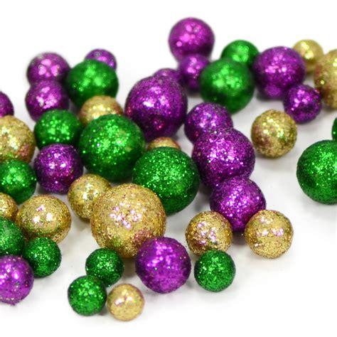 glitter mardi gras confetti balls bag mz2006mg mardigrasoutlet com