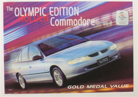 Holden Vt Commodore Olympic Edition Brochure