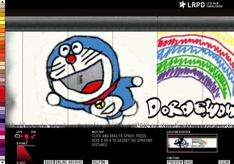 Grafiti Doraemon :  Doraemon By Lalilolule On Deviantart