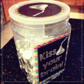 kiss  brain jar filled  hershey kisses