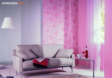 ruangan semakin gaya  warna merah muda pt