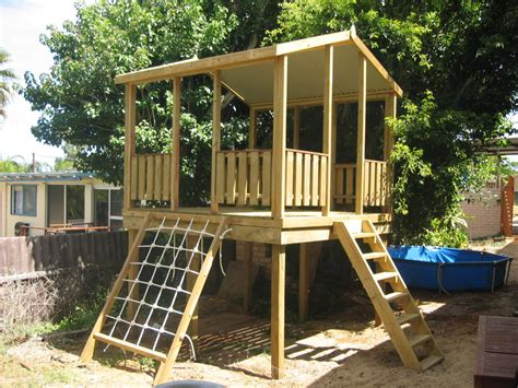 Quality Timber Cubby Houses