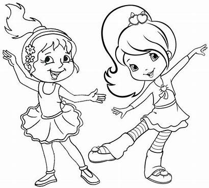 Coloring Dance Cartoon Pages Fun
