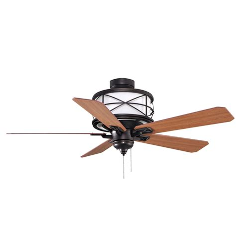 Allen Roth Ceiling Fans by Shop Allen Roth 52 In Sonning Aged Bronze Ceiling Fan