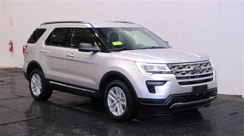 New 2018 Ford Explorer XLT in Quincy #F106512   Quirk Ford