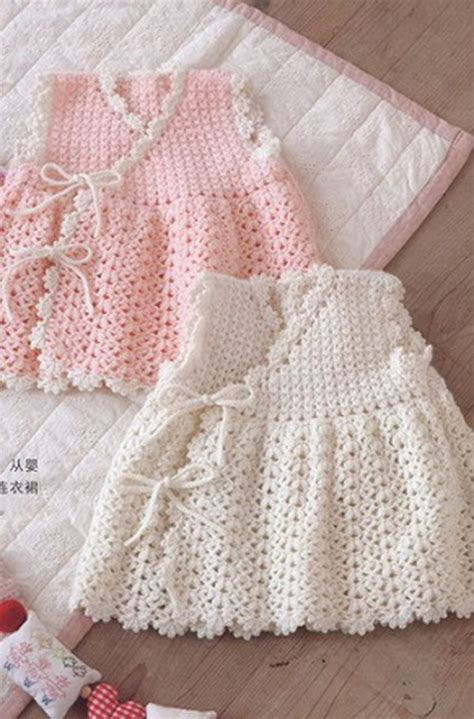 crochet baby dress cool crochet patterns ideas for babies hative