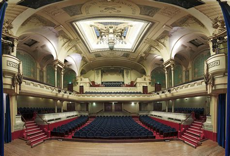 auditorium des cuisines the beautiful symmetry of grand theaters captured from