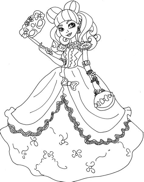 high coloring pages stunning characters