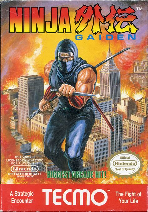 Ninja Gaiden For Arcade 1989 Mobygames