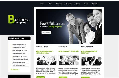 dreamweaver templates free dreamweaver business website templates
